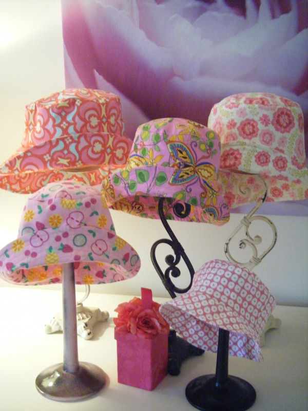 Pretty in Pink Hats
